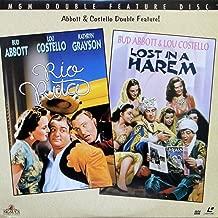 Abbott & Costello Double Feature: Rio Rita/ Lost in a Harem (LASERDISC)
