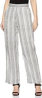 KRAVE Women's Striped Straight Pants