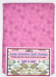 Quilt Backing, Large, Seamless, from AQCO, Magenta, C49795-700