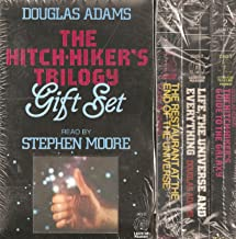 THE HITCH-HIKER'S TRILOGY GIFT SET (SIX CASSETTES APROXIMATLEY 7 HOURS PLAYING TIME, THE HITCH-HIKER'S GUIDE TO THE GALAX...
