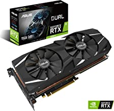ASUS GeForce RTX 2080TI 11G GDDR6 Dual-Fan Edition VR Ready HDMI DP USB Type-C Graphics Card (DUAL-RTX2080TI-11G)