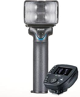 Nissin MG10Flash inalámbrico (transmisor de Radio Air 10S para Fujifilm, Negro