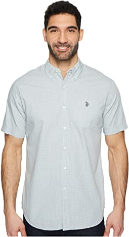 Short Sleeve Classic Fit Fancy Shirt