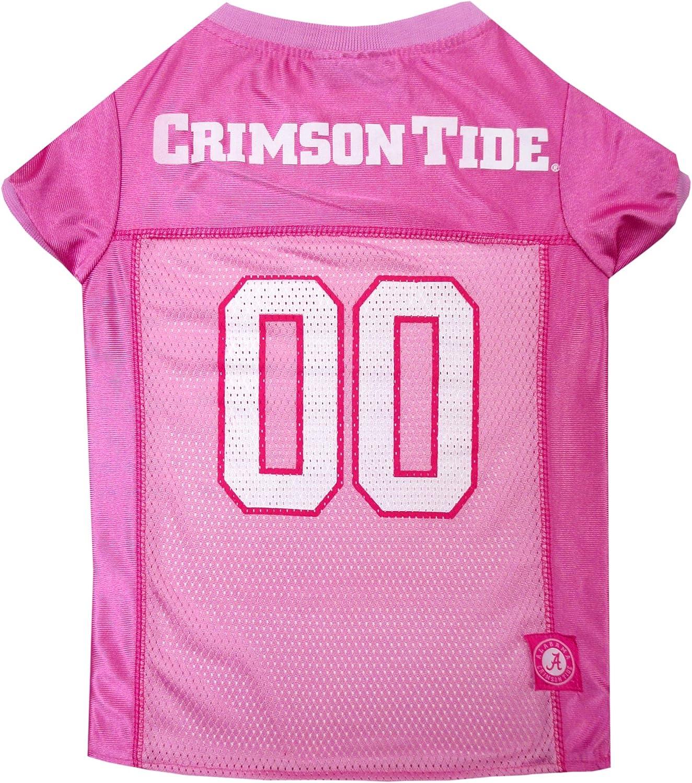 premium selection 90ecf 5e8ab NCAA Alabama Crimson Tide Dog Pink Jersey, Large. Large ...
