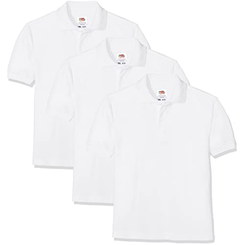 8e85d02c1db Fruit of the Loom Baby Short Sleeve Polo Shirt Pack of 3