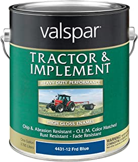 Valspar 4431-12 Ford Blue Tractor and Implement Paint - 1 Gallon