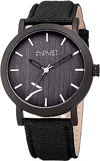 August Steiner men's Fabric Band Watch