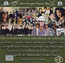 25 ANIVERSARIO DE LA MEJOR MUSICA DE MEXICO VOL 2
