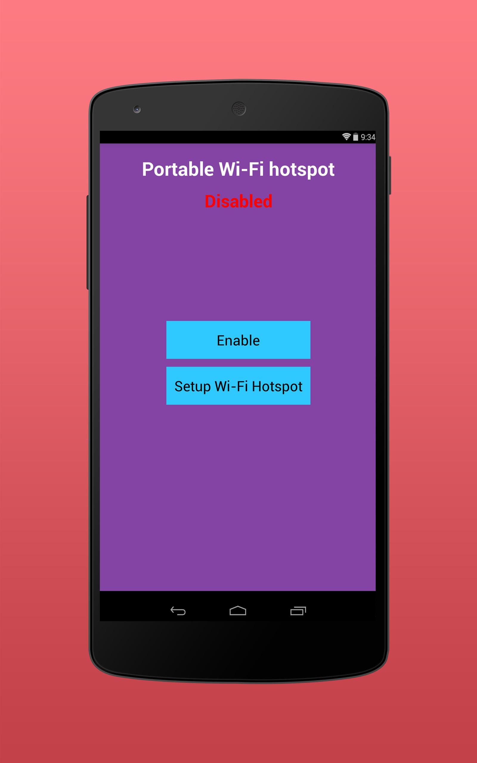 Portable Wi-Fi hotspot
