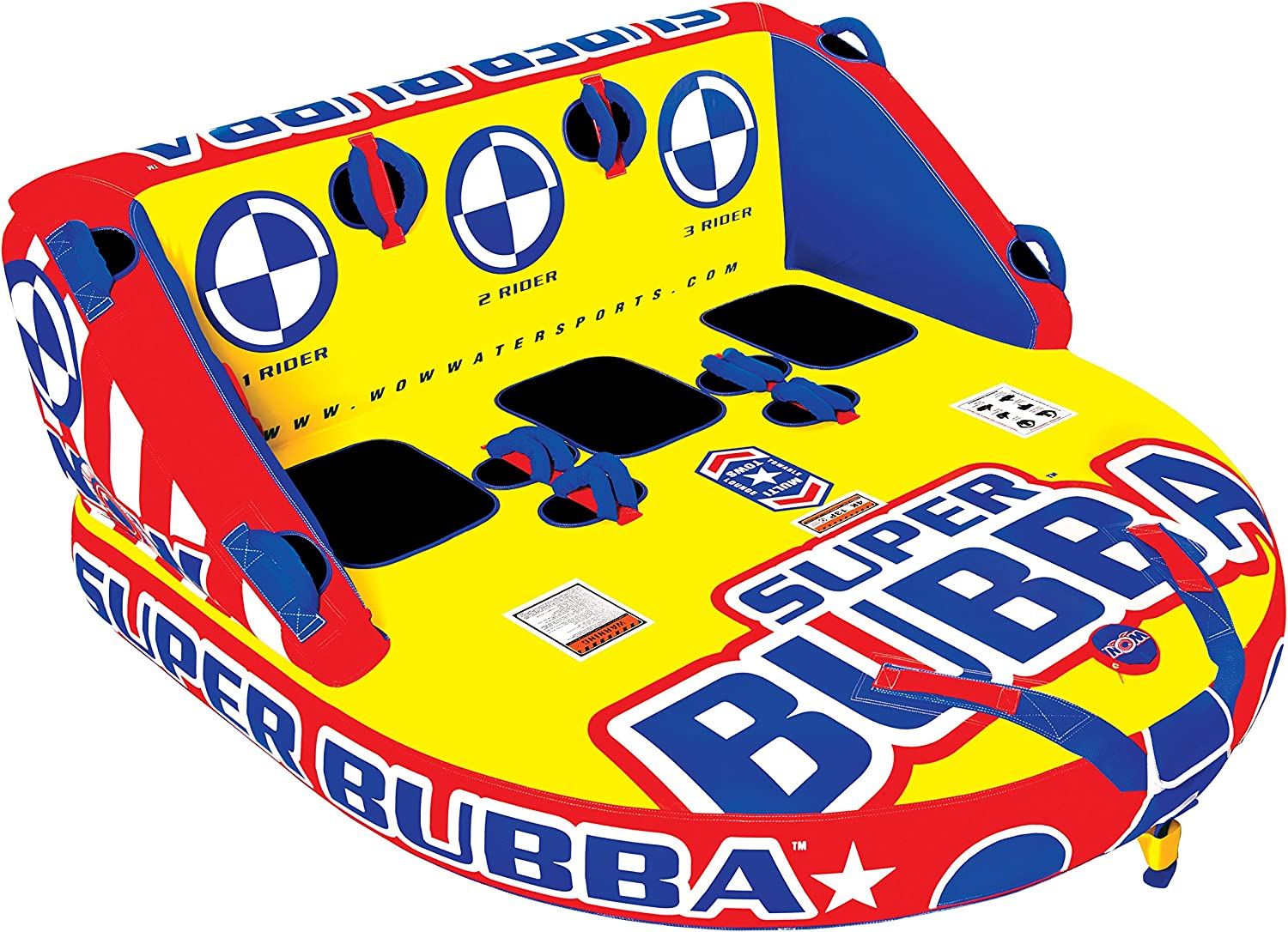 WOW Super Bubba 3Rider Towable