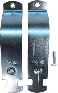 南電機 パイプハンガーサドル PG-92 電気亜鉛メッキ仕上げ (10個/箱)