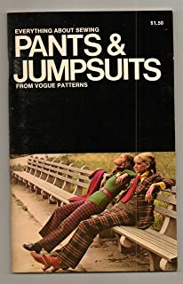 Everything About Sewing Pants & Jumpsuits from Vogue Patterns