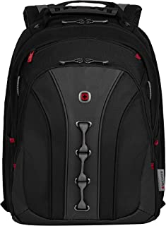 "Wenger 600631 Legacy 16"" Laptop Backpack, Black, Grey, 45 Centimeters"