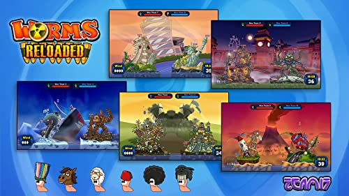 Worms Reloaded - The Pre-order Forts and Hats DLC Pack [PC Code - Steam]