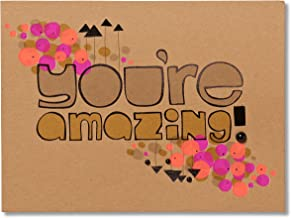 American Greetings You're Amazing Birthday Greeting Card with Beads and Foil