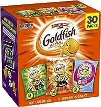 Pepperidge Farm, Goldfish, Crackers, Bold Mix, 29.4 oz., Variety Pack Box, Snack Packs, 30-count