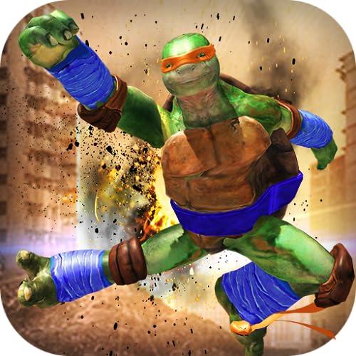Real Ninja Turtle street fight 2019 : final real tartaruga ninja cidade do crime luta de espadas duplas robôs do mal ninja super tartaruga crime rua dupla luta gangster jogo tartaruga ninja mafia mutante super-herói tiro