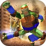Real Ninja Turtle street fight 2019