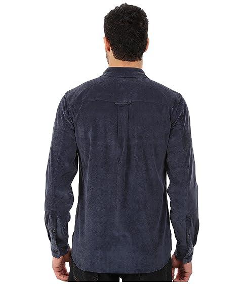Long Sleeve Royal Cord Grid Robbins Shirt BtZgnA