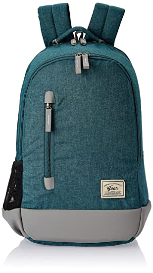 Gear Campus 8 Backpack Green  Grey  BKPCAMPS80304  Casual Backpacks