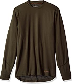Men's Thermolator Climasense 4-Way Stretch Brushed Crew Neck Top