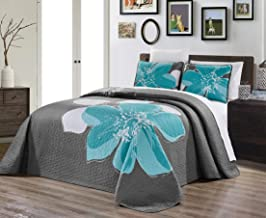 Best coral and grey bedspread Reviews