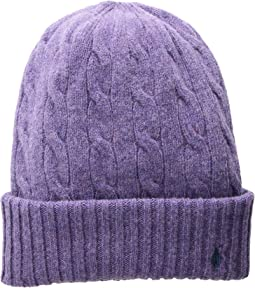 ebdd53bddb87f Wool Cashmere Classic Cable Cuff Hat. Like 4. Polo Ralph Lauren. Wool  Cashmere ...