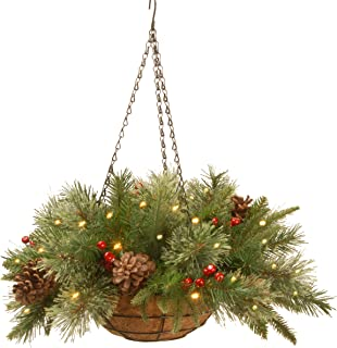 Best christmas hanging basket with lights Reviews