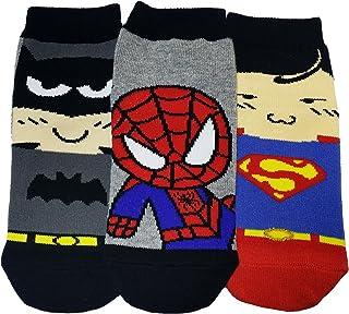 Calcetines de colección Boy's Cotton Blend Superhero