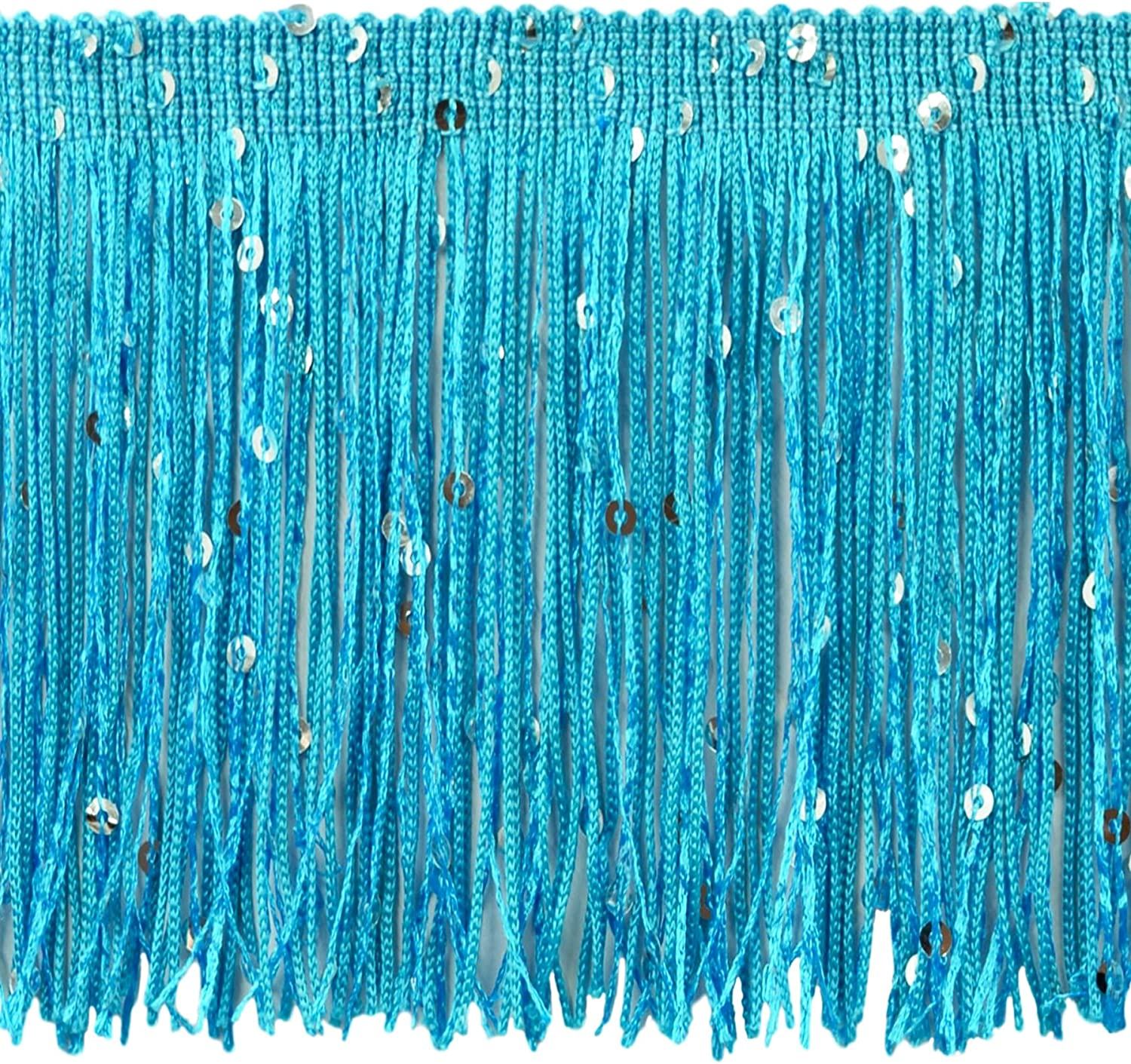 DÉCOPRO 11 Yard Miami Large special price !! Mall Value Pack of 4 Fringe Inch Chainette Sequin