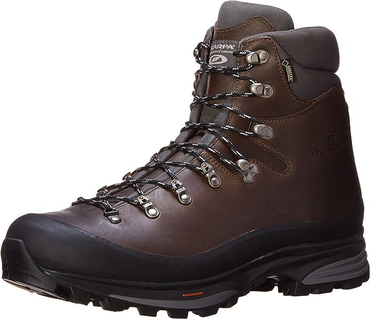 Anfibi escursionismo scarpa kinesis pro gtx, stivali da escursionismo alti uomo 61000