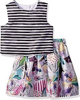 Pippa & Julie Girls' Skirt and Top Dress Set