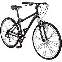 Schwinn Siro 700c 21-Speed Aluminum Frame Hybrid Bike (Black)
