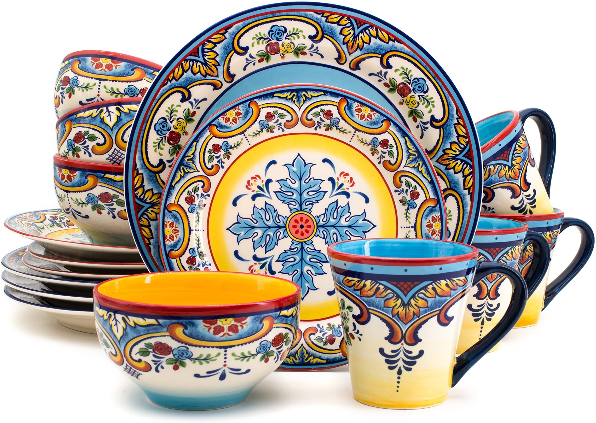 Match to our other floral products New Home Yellow  Flowers Beautiful Floral  Dinner Bowl Pattern 6 Birthday /& More!