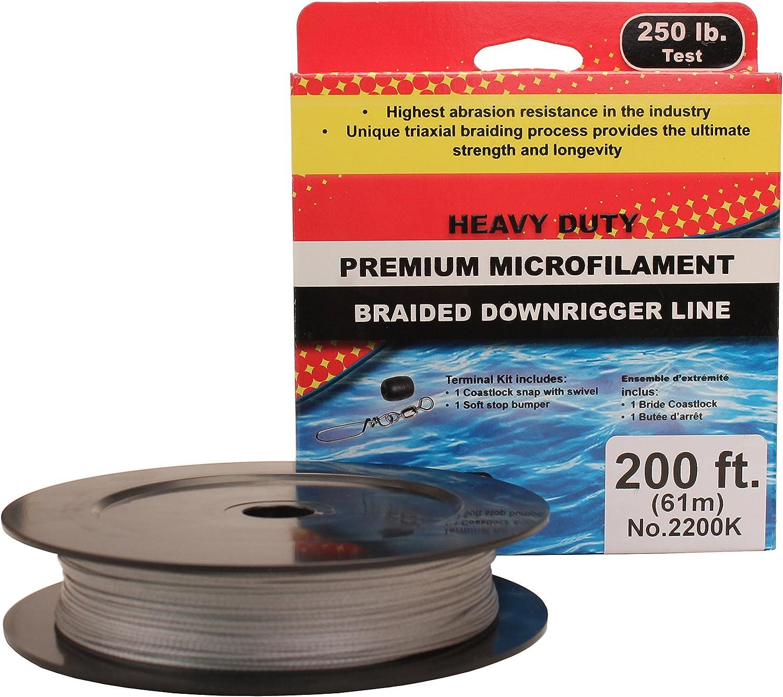 Scotty Premium Braided Fiber Downrigger Line with Kit
