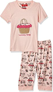 JOANNA Girl's Printed Lovely Bag Sleepwear Set