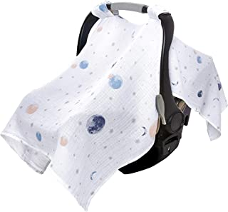 Aden by aden + anais Classic Car Seat Canopy, to The Moon - Intergalactic