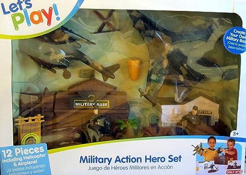 Military Action Hero Set by Jakks Pacific by Jakks Pacific