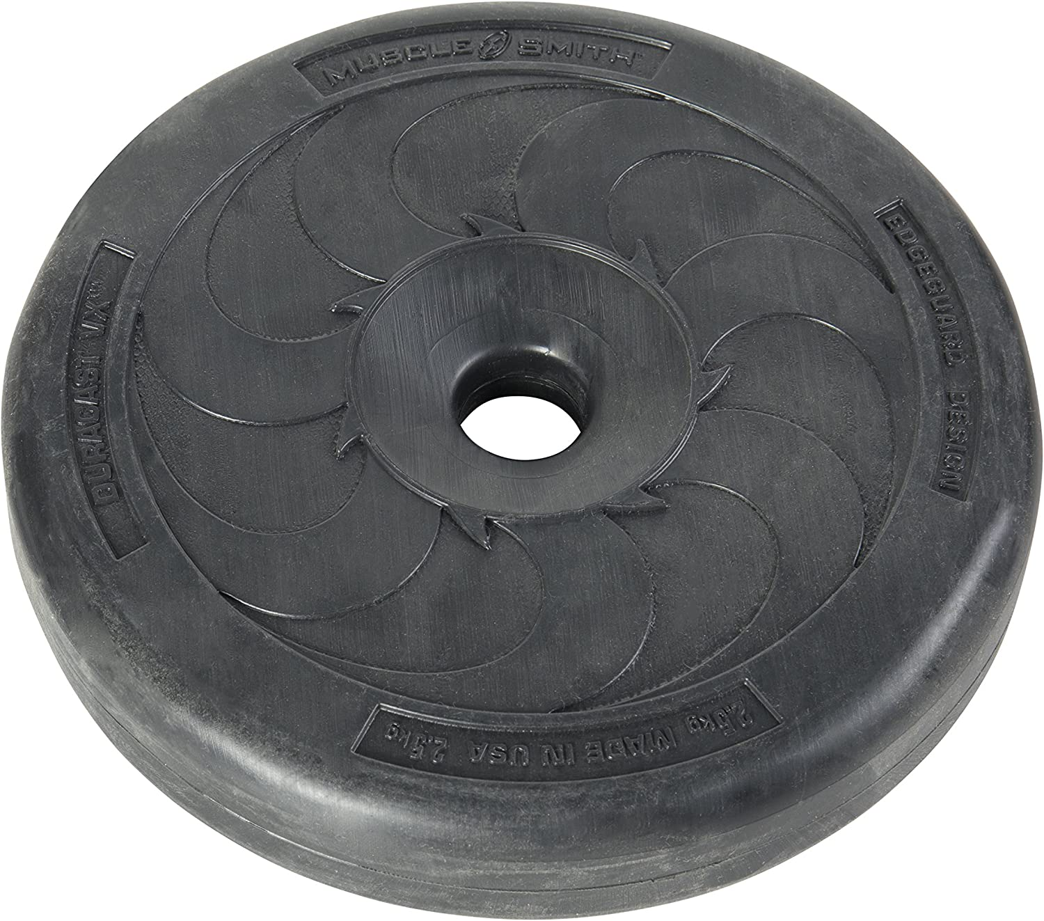 US Weight Duracast Weight Plates for 1inch Diameter Bars – 2.5 kg (22.04 pounds)