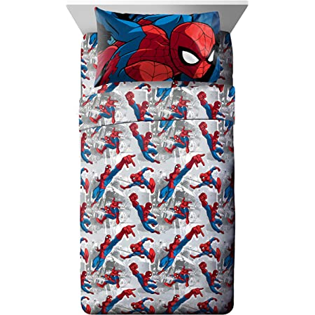 Full Fitted Sheet Single Bed Spiderman 100/% Cotton Marvel Spiderman lc1117