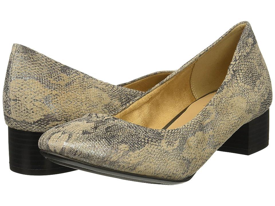 Naturalizer Adeline (Grey/Silver Metallic Snake Leather) Women