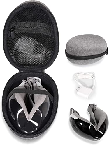 new arrival getgear new arrival Eye high quality Massager Case for Electric Portable Eye Massager Like Breo iSee4, iSee 3S, Osito, BAIYE, RENPHO, Serenelife SLEYMSG40, (with Folded Massager Center Out) outlet sale