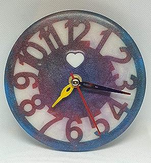 Reloj de pared o escritorio Aesthetic, minimalista. 15 cm
