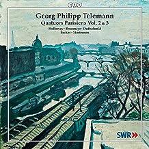 V 2-3: Telemann Quatuors Paris