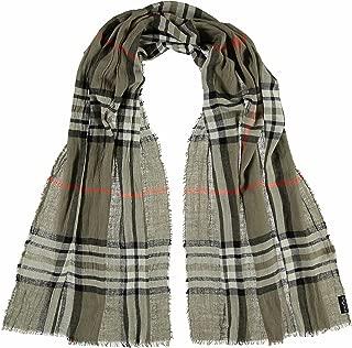 FRAAS elegante Damen-Stola mit Karo-Muster - karierter Schal für Herbst und Winter - warmes Hals-Tuch in verschiedenen Farben - modische Stola kariert