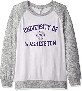 chicka-d NCAA Womens Cozy Fleece Crew Sweatshirt