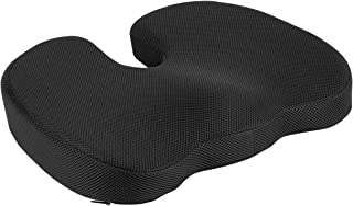 Amazon Basics - Cuscino per seduta, in memory foam, per sedia di ufficio
