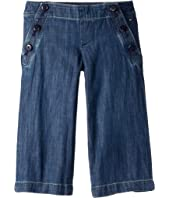 Seated Fit Cropped Pant with Adjustable Waist and Hems (Toddler/Little Kids/Big Kids)