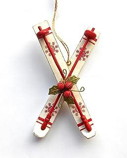 C&F Home Nordic Ski Ornament
