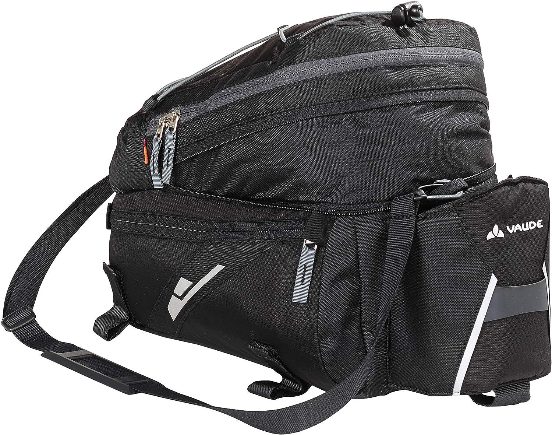 (Black) - Vaude Pannier Rack Bag Seat Pack Silkroad L